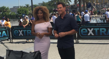 Mark Steines Makes TV Debut on 'Extra' Following Departure from Hallmark Channel – See Pics!