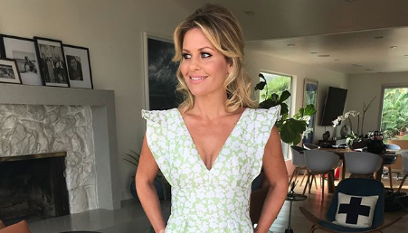 Get Candace Cameron Bure's Hair, Makeup & Outfit from the Hallmark TCA's!