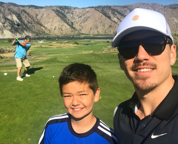 Bryan Tanaka Bonds with Father & Brother, Danny on Golf Course – See Photos!