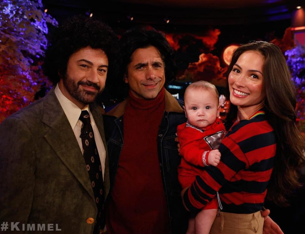 John Stamos, Caitlin and Son Billy Get Dressed up for Halloween – See Photos!