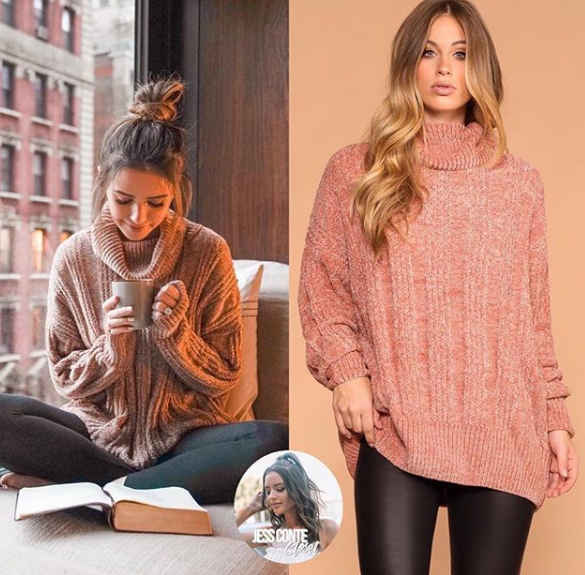 Get Jess Conte's Cute Winter Style – Clothes Inside!