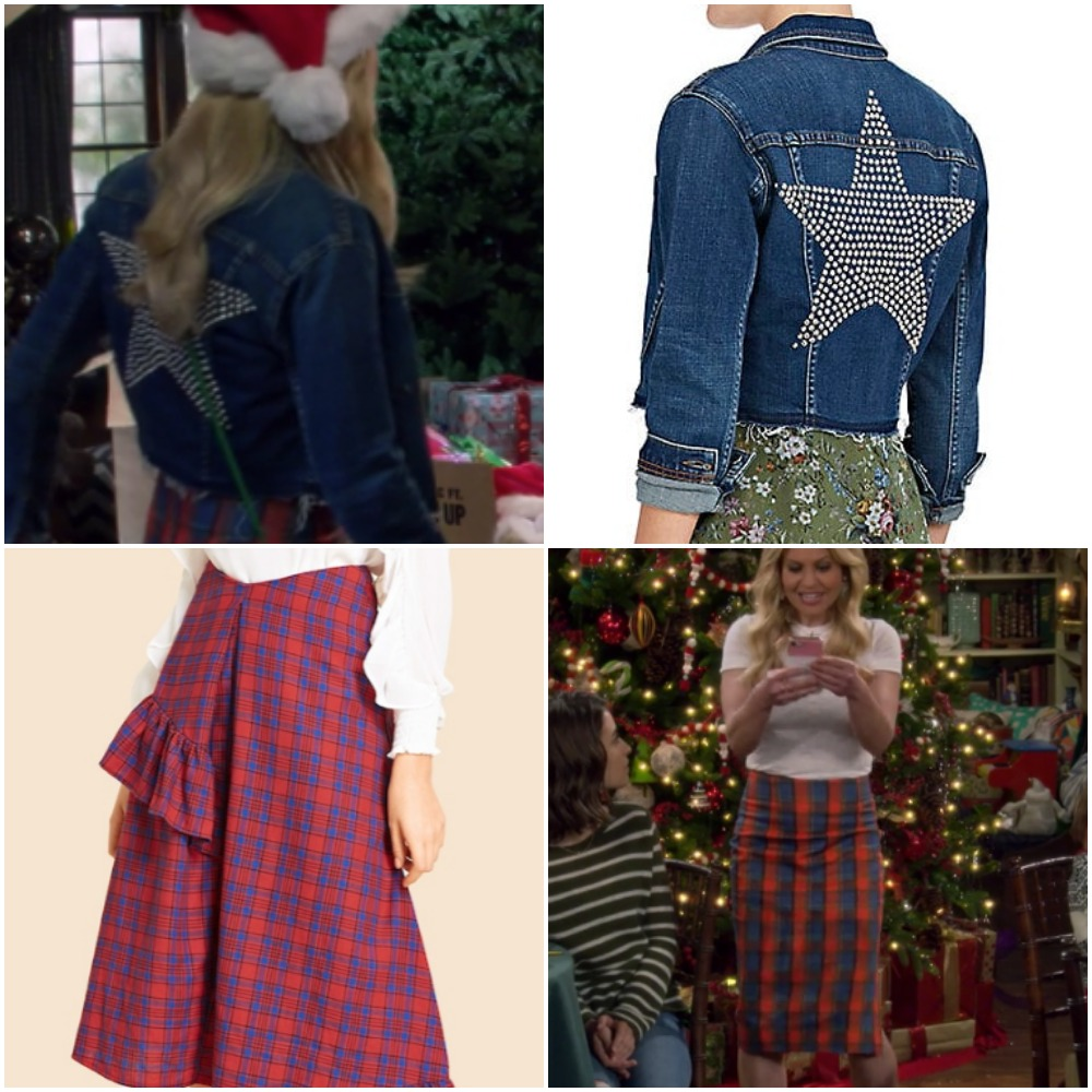 Star Jeans Jacket on Candace Cameron from Fuller House