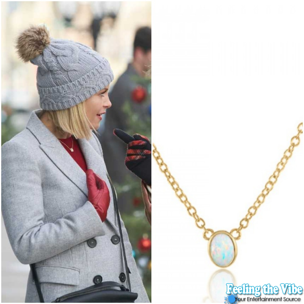 Candace Cameron Bure Small Pendant Necklace from 'A Shoe Addict's Christmas'