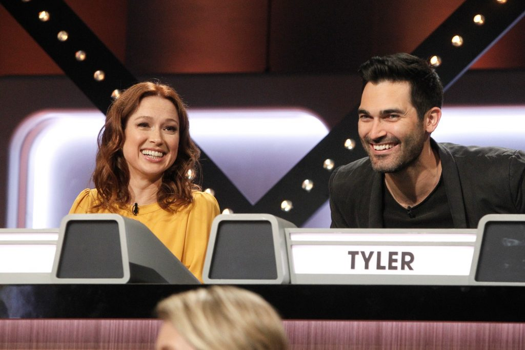 Ellie Kemper and Tyler Hoechlin on ABC's Match Game January 9, 2019