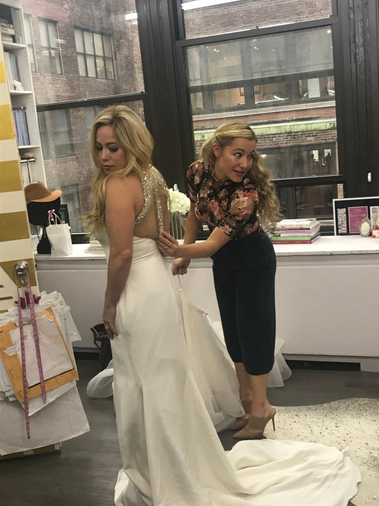 """Behind the scenes of Sabrina Bryan's """"Say Yes to the Dress"""" Episode"""
