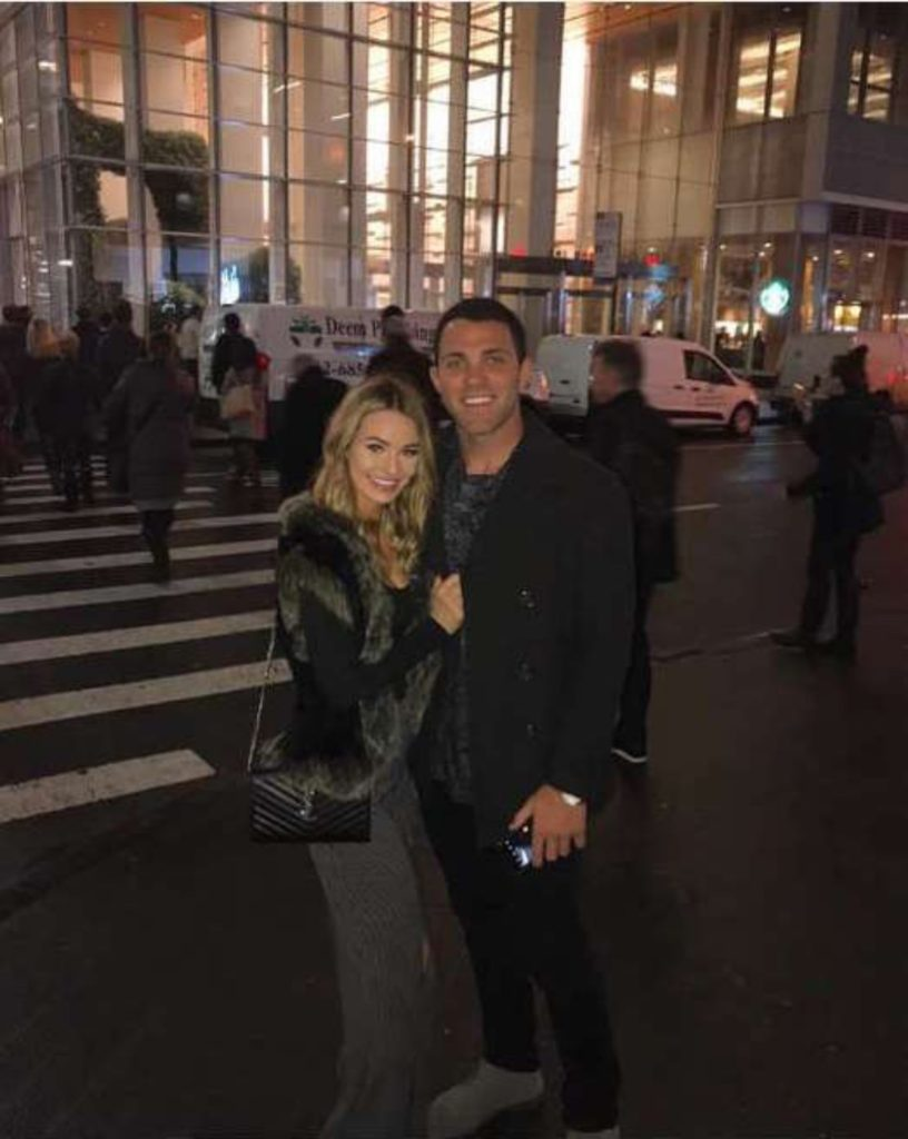 Juliette Porter and Alex Kompo in NYC October 2018