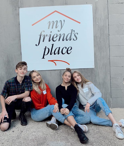 Maddie and Mackenzie Ziegler Honored at LA Homeless Youth