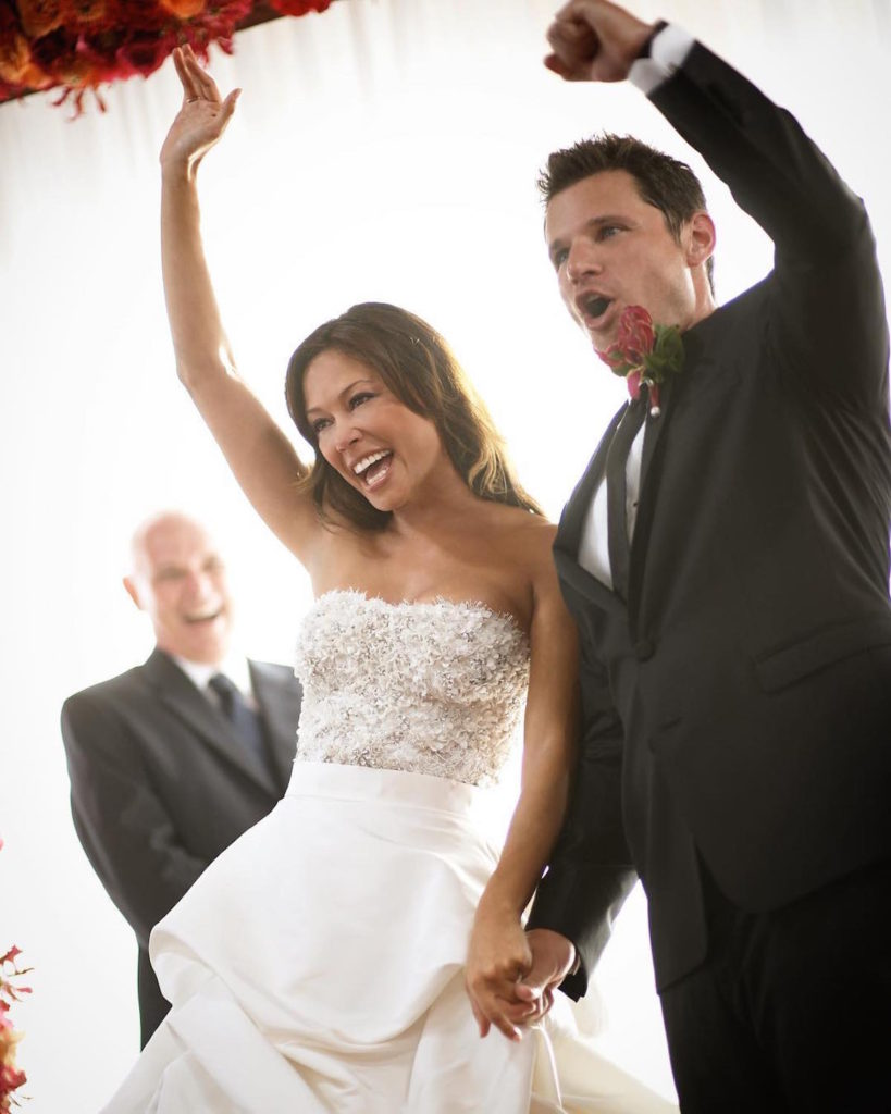 Nick Lachey and his wife Vanessa's Wedding