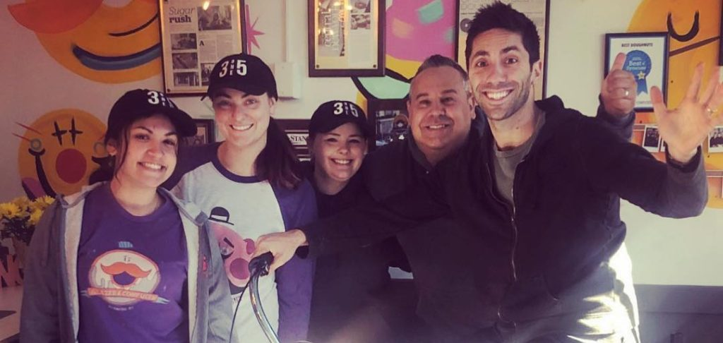 Nev Schulman Seen Filming 'Catfish' Season 8 in New York + Takes Pics with Fans!