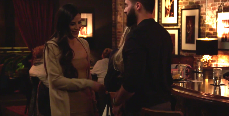 Kelly Henderson and Brandon on blind date for 'Very Cavallari'