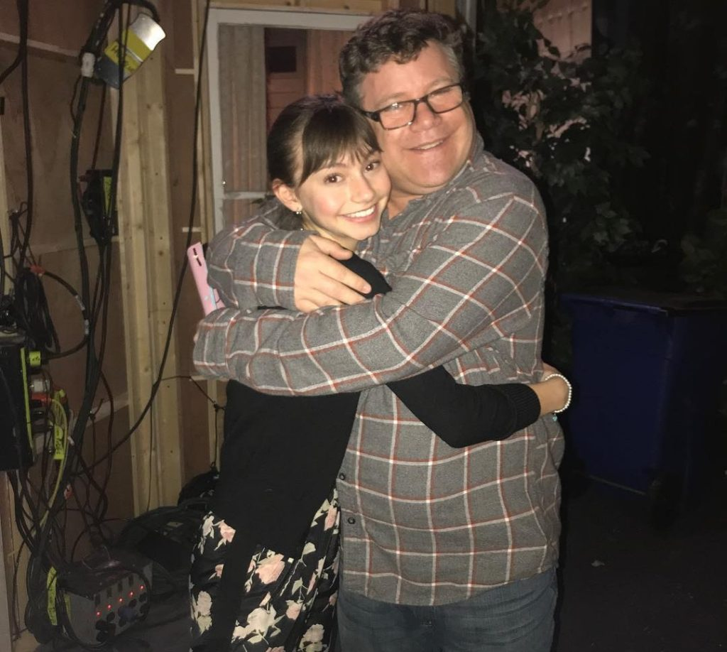 Sean Astin and Lauren Donzis from 'No Good Nick.'