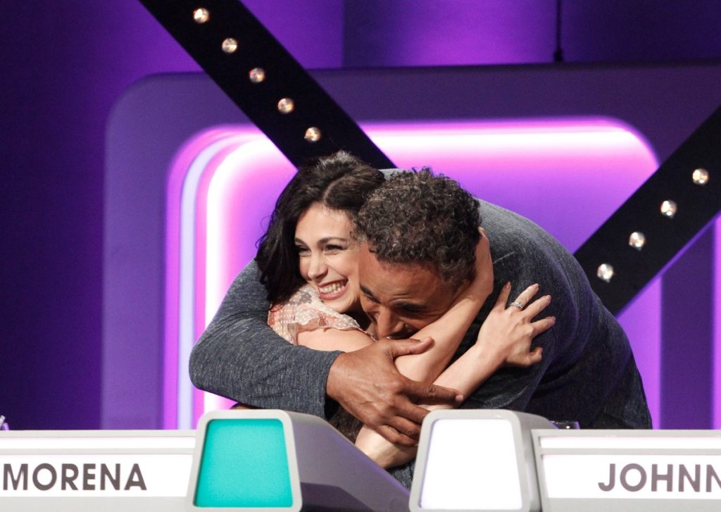 Morena Baccarin on The Match Game and Rick Fox