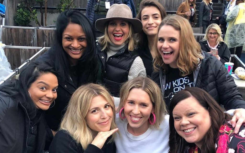 'Fuller House' Stars Candace Cameron Bure, Andrea Barber, and Soni Nicole Attend New Kids on the Block Concert