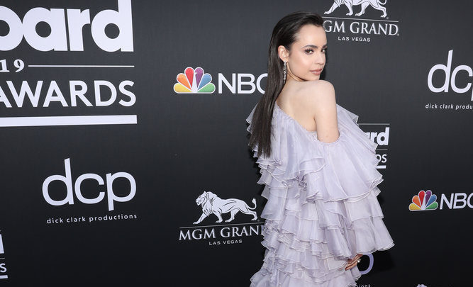 Sofia Carson Graces the Red Carpet at the Billboard Music Awards 2019