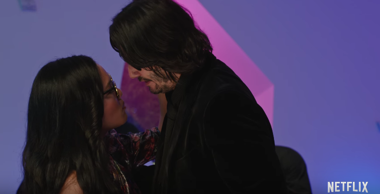 Keanu Reeves and Ali Wong in Netflix Always Be My Maybe