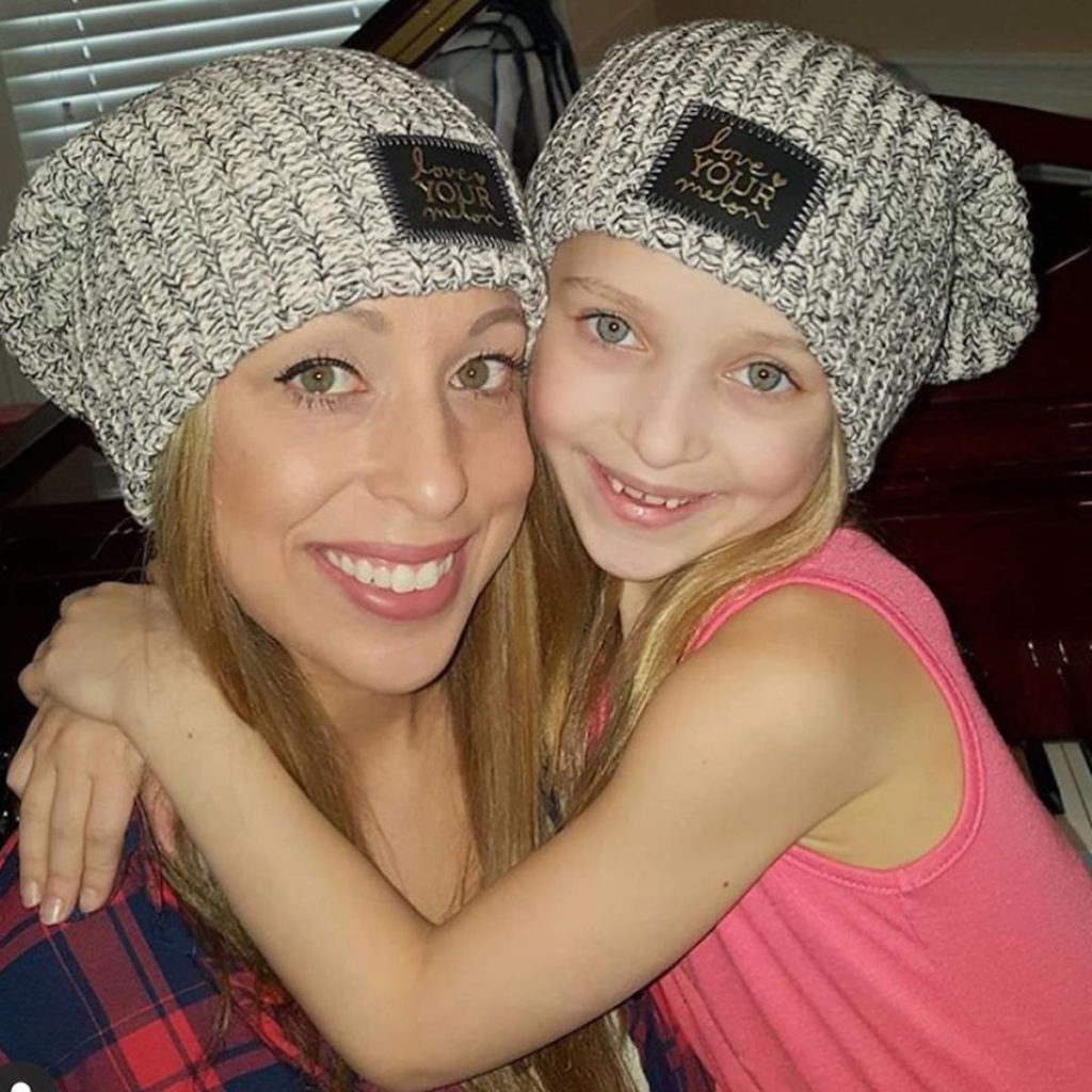 Lilly Ketchman and her mom, Stacey