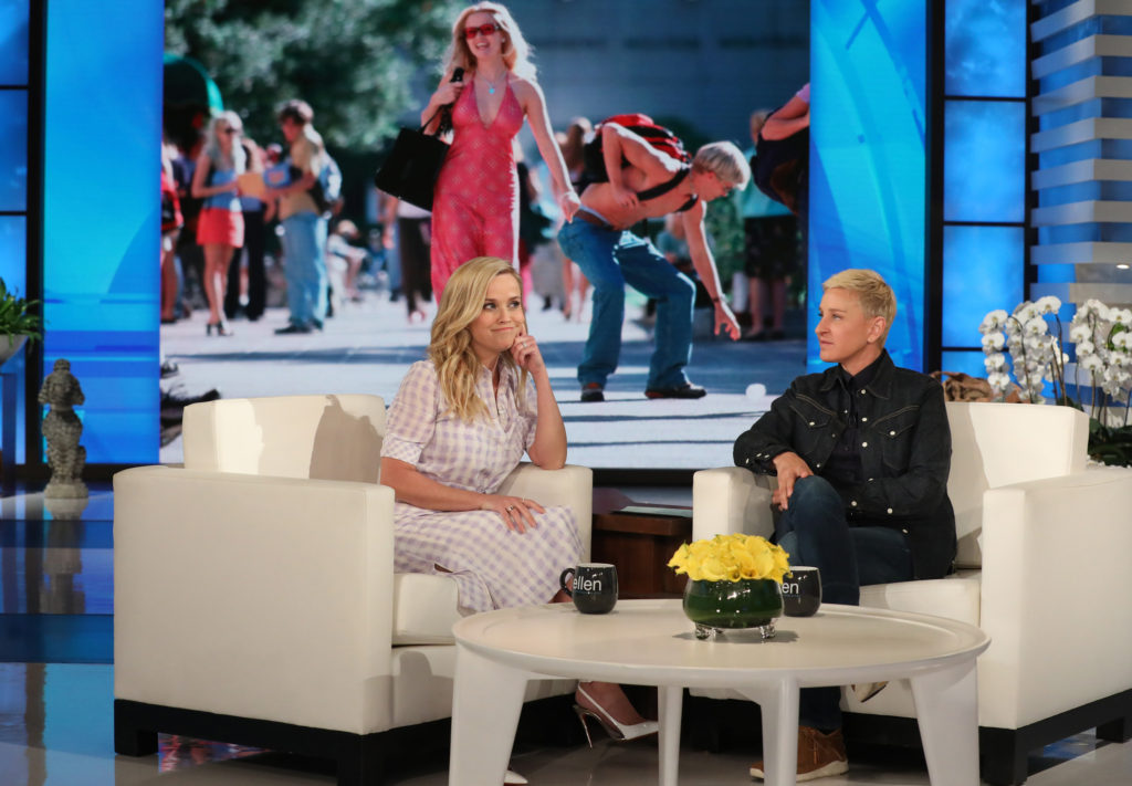 Reese Witherspoon, The Ellen DeGeneres Show, Legally Blonde 3
