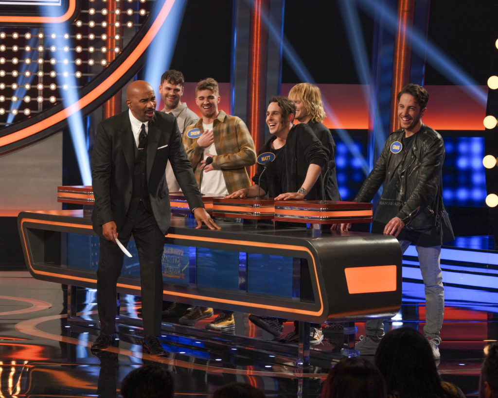 The Chainsmokers on Celebrity Family Feud 2019
