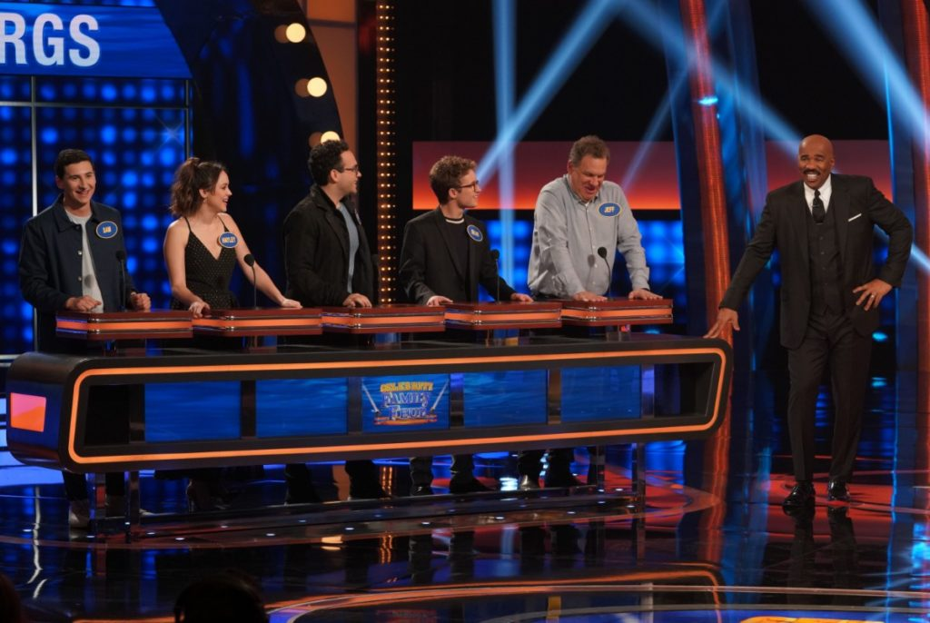 'The Goldbergs' cast on Celebrity Family Feud