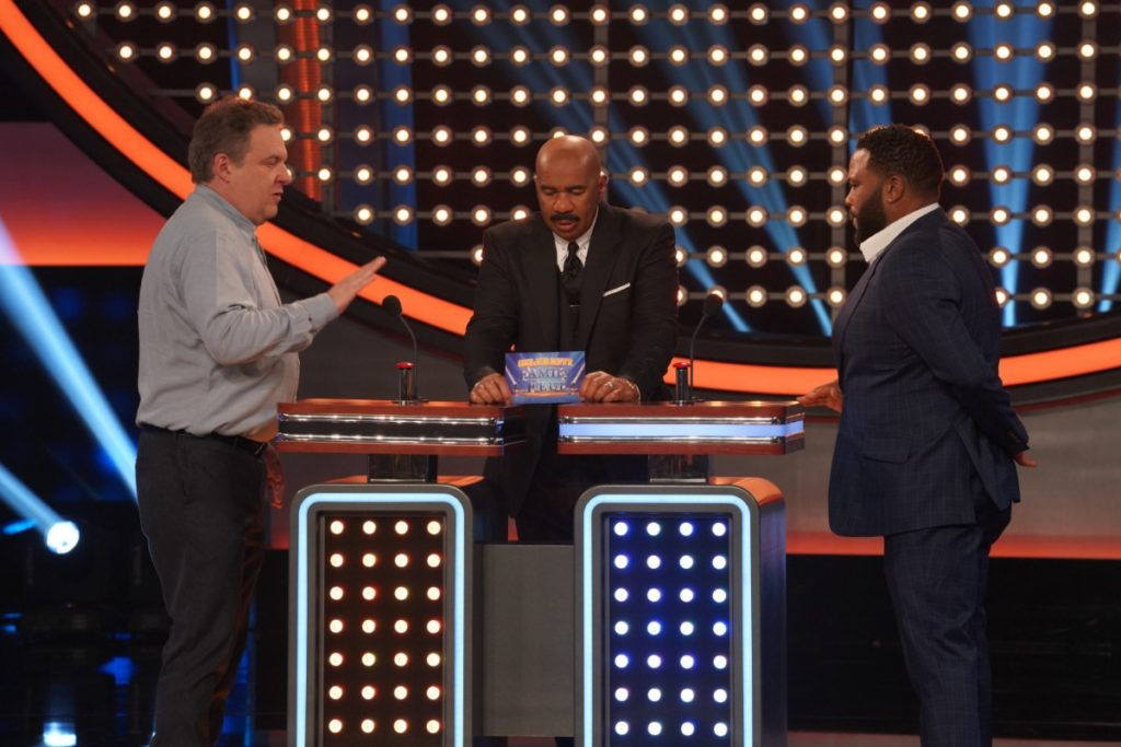 Anthony Anderson vs Father on The Goldbergs for Celebrity Family Feud