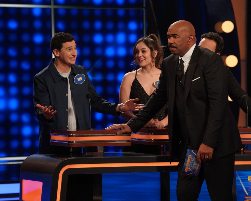 The Goldbergs Cast on Celebrity Family Feud - June 30
