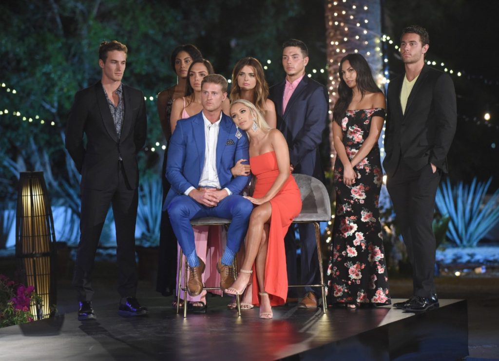 Bobby Ray and Tatum in the Paradise Hotel Season Finale with their Cast Mates