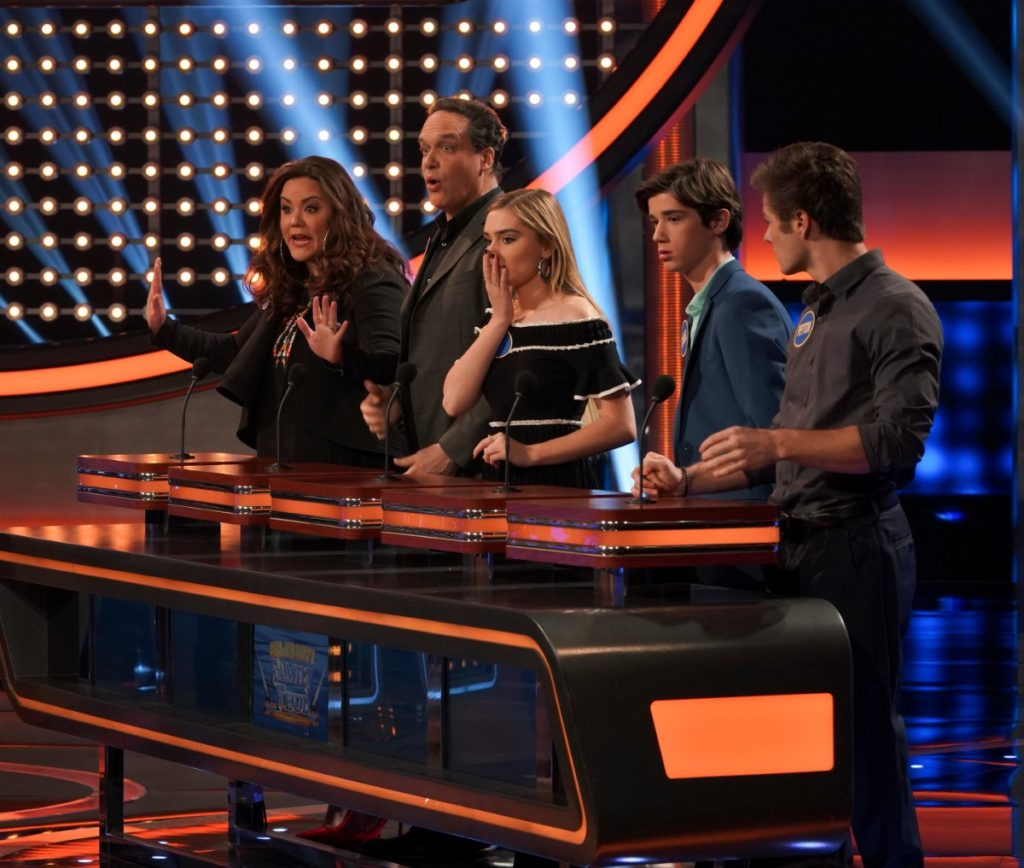 'American Housewife' Cast on 'Celebrity Family Feud'