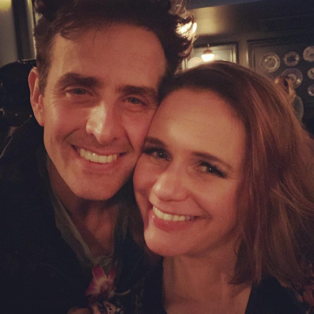 Joey McIntyre and Andrea Barber