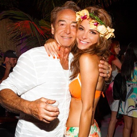 Maria Menounos and father Peter