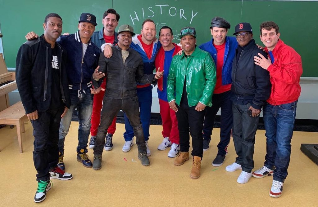 Behind the scenes of NKOTB Boys in the Band Music Video