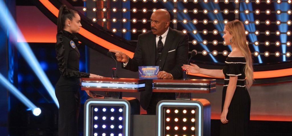 Casts of 'Descendants 3' and 'American Housewife' Face Off on 'Celebrity Family Feud' – See Photos!