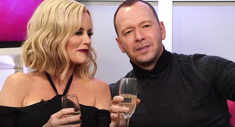 Jenny McCarthy and Donnie Wahlberg play Never Have I Ever
