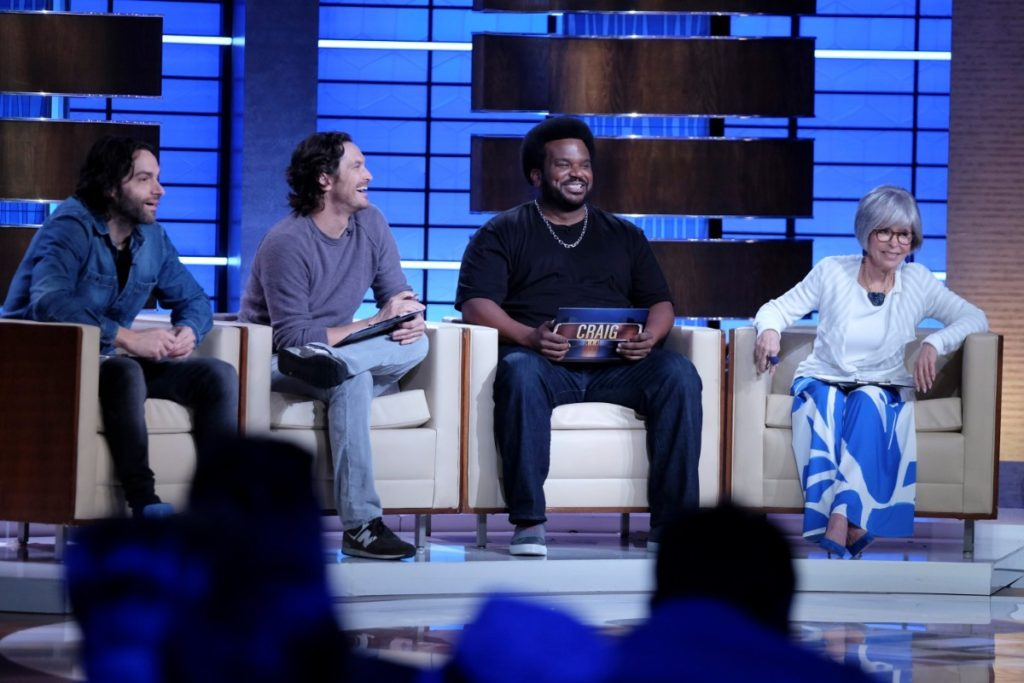 Chris D'Elia and the panel for To Tell the Truth Sept 22nd