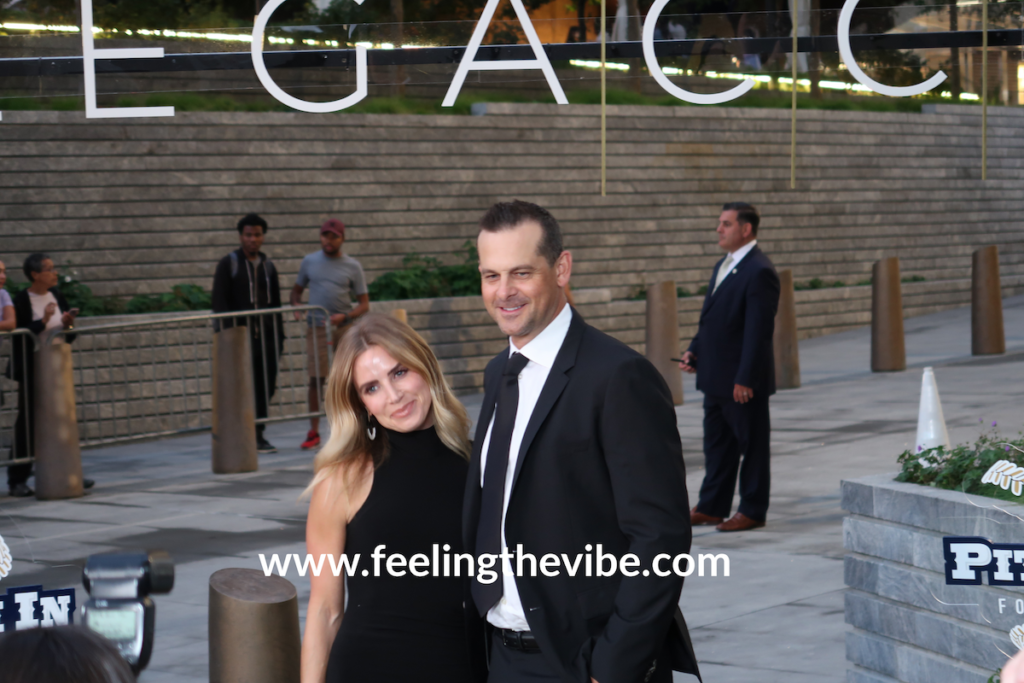 Aaron Boone arrives at the CC Sabathia Pitcchin Foundation Gala in NYC on September 16, 2019