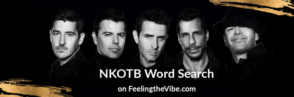 NKOTB Word Search Game  - Play Online for Free