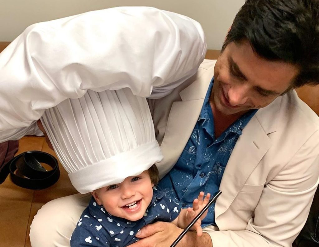 John Stamos's Son Billy is Too Cute with his Chef Louis Hat On