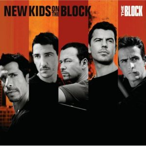 The Block CD Cover from the New Kids on the Block