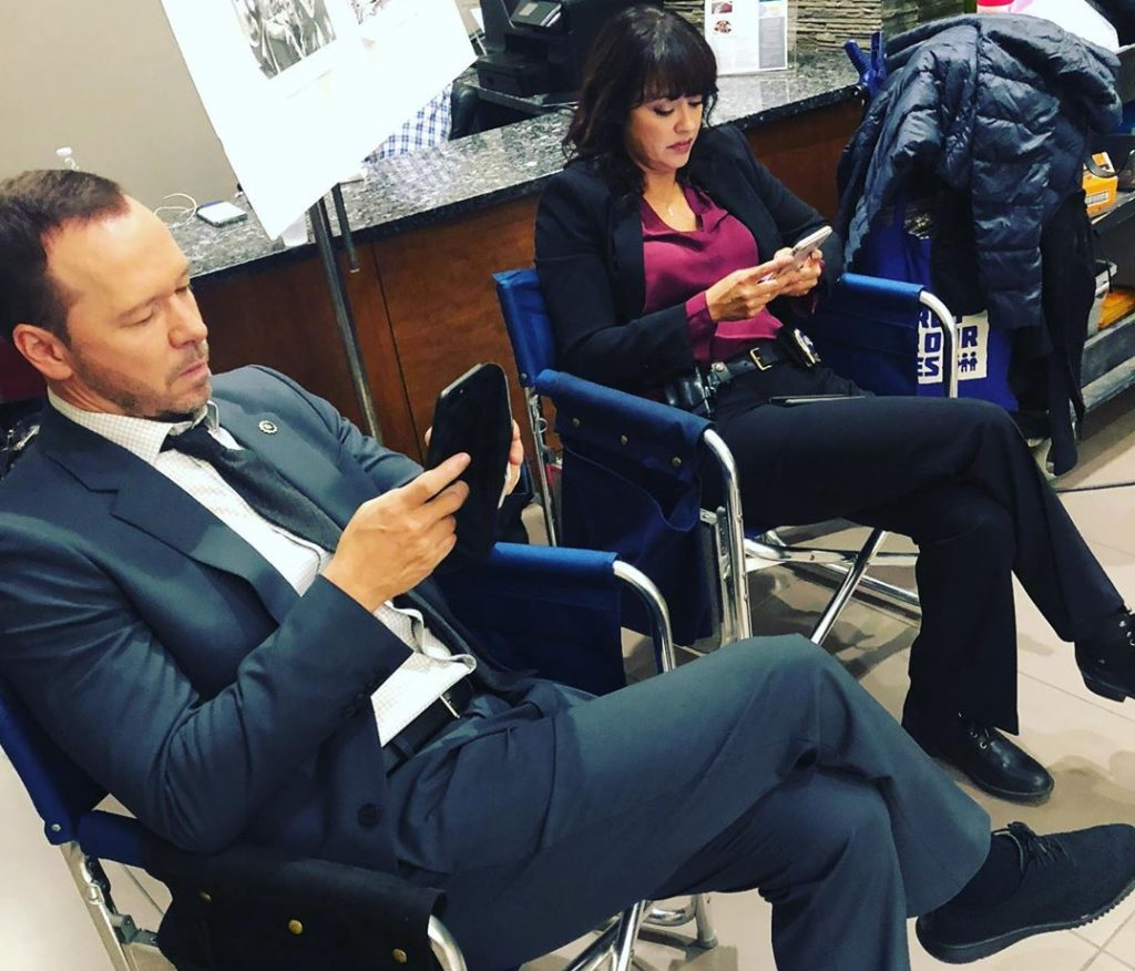 Donnie Wahlberg Gives a Behind the Scenes Look at 'Blue Bloods' Season 10