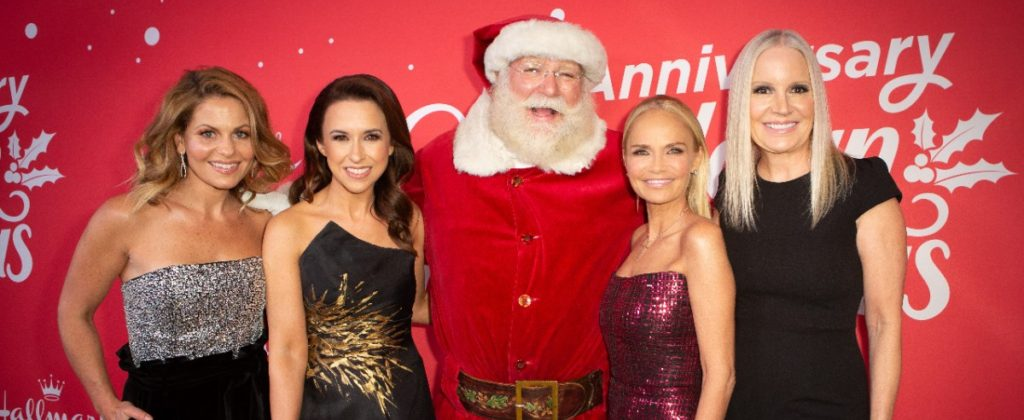 Kristin Chenoweth Throws a Party for 'A Christmas Love Story' with Candace Cameron Bure & More
