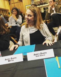 Andrea Barber, writing credit, 'Fuller House'