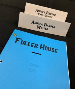 Andrea Barber 'Fuller House' writer