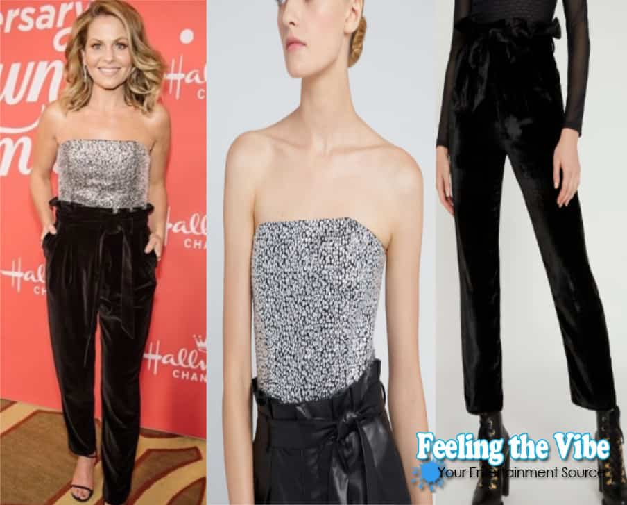 Candace Cameron Bure clothing from A Christmas Love Story movie screening