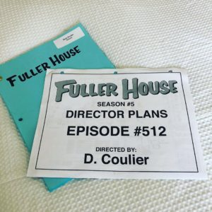 Dave Coulier directing an episode of 'Fuller House'