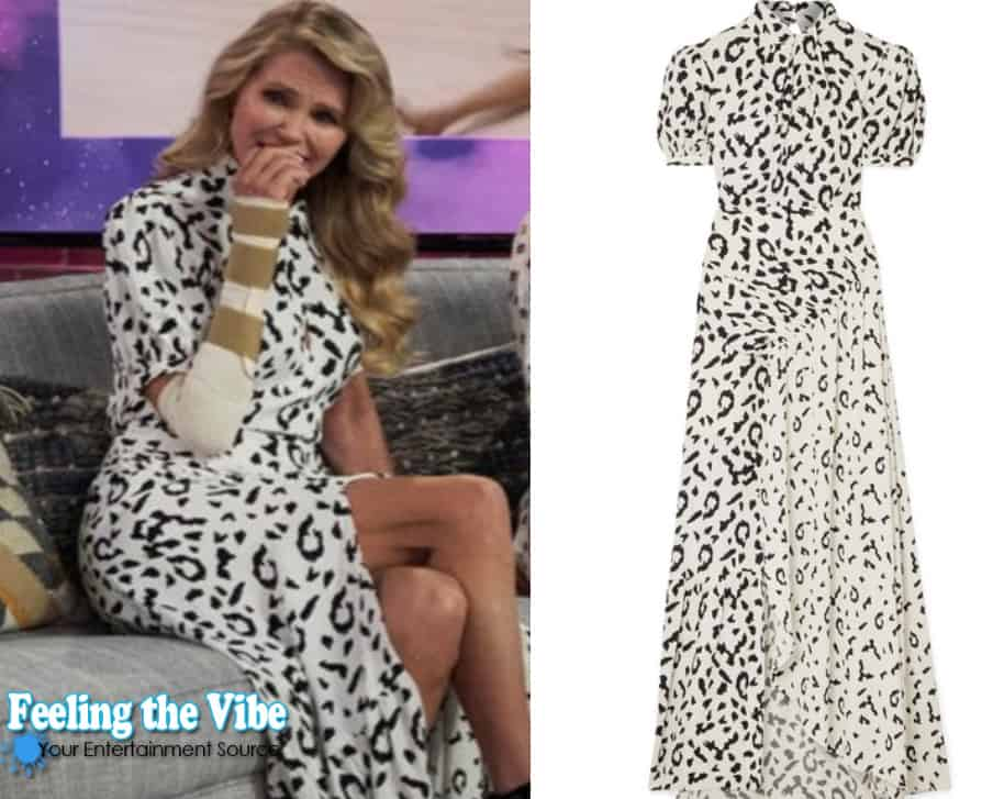 Christie Brinkley on the Kelly Clarkson Show dress October 14, 2019