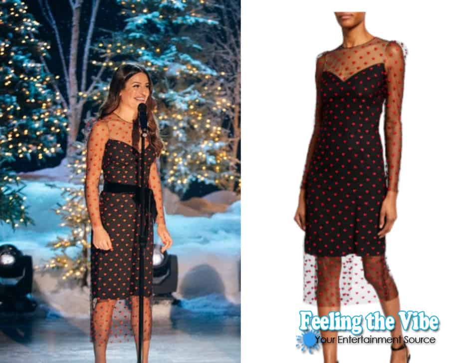 Lea Michele's dress from the Kelly Clarkson Show October 25th