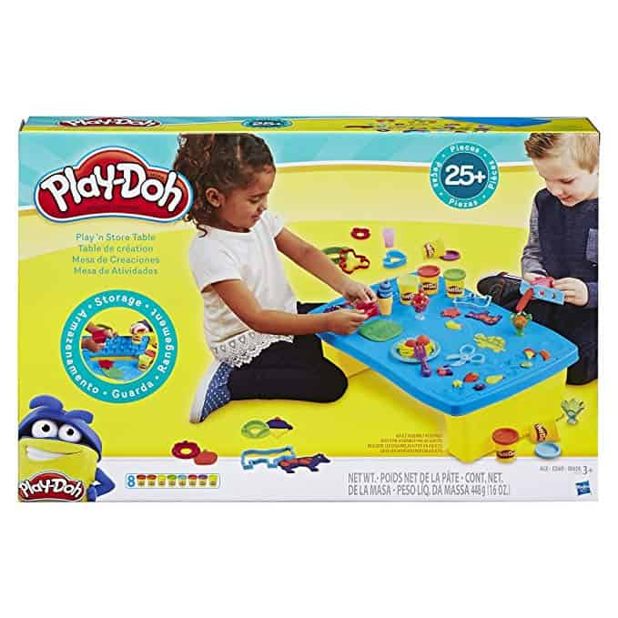 Play-Doh Play 'n Store Table from Amazon