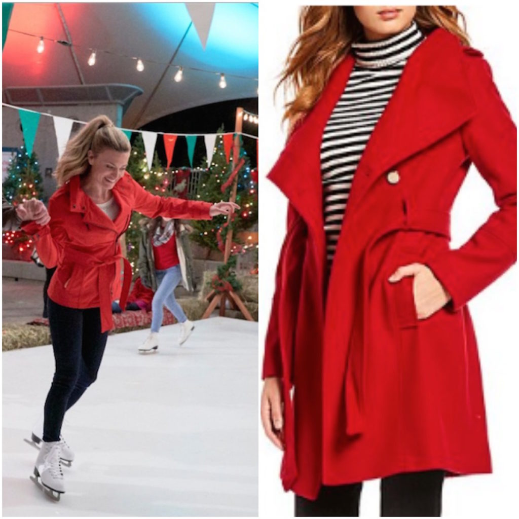 Red coat from Nostalgic Christmas on Hallmark Channel