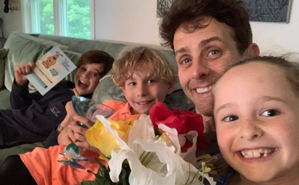 New Kids on the Block Member Joey McIntyre Goes to the Lion King with Family