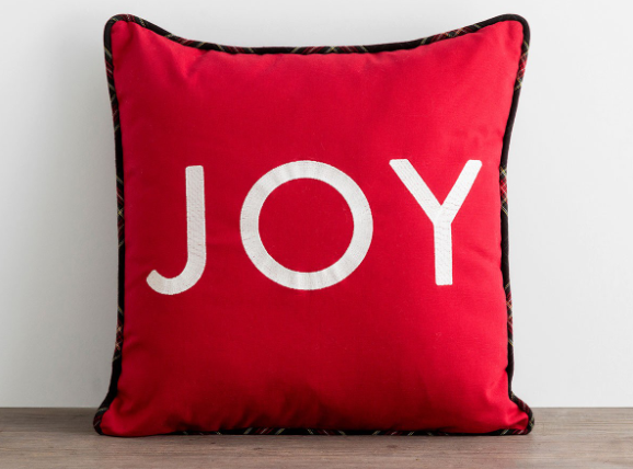 Candace Cameron's JOY Pillow for sale.