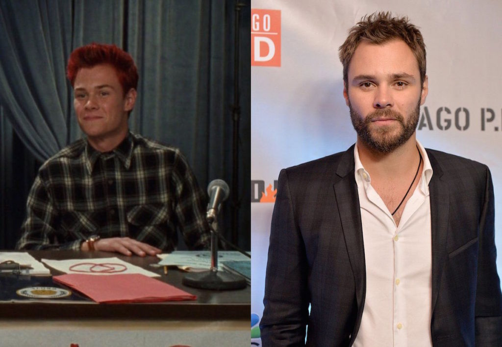 Patrick John Flueger then in 'The Princess Diaries' and now from 'Chicago PD'